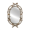 Intertwined Twig Mirror with Organic Appeal
