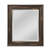 Weathered Frame Gives This This Beveled Mirror A Warm Feeling