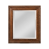 Mirror Masters British Barley Twist Carved Wood Frame