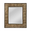 Mirror Masters This Beveled Mirror Has Appealing Leaf Patterned Frame