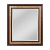 Mirror Masters Authentic Capiz Shell Inlaid Wood Frame, Beveled Mirror