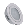 MiniPot Premium 1 Lamp Xenon Cabinet Light In White And Frosted Glass
