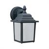 Hawthorne Wall Lantern Black 1X13W 120V