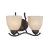 Triton Wall Lamp Sable Bronze 2X100W 120