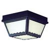 Outdoor Essentials Ceiling Lamp Black 2X