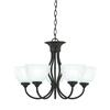 Tahoe Chandelier Painted Bronze 5X100W