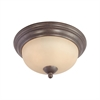 Triton Ceiling Lamp Sable Bronze 2X60W