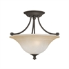 Harmony Ceiling Lamp Aged Bronze 2X100W