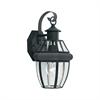 Heritage Wall Lantern Black 1X60W 120V