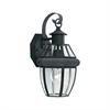 Heritage Wall Lantern Black 1X100W 120V