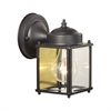 Park Avenue Wall Lantern Painted Bronze