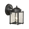Park Avenue Wall Lantern Black 1X60W 120