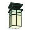 Mission Ceiling Lamp Black 1X100W 120V