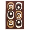 "Capri Collection, 51""W X 87""D X 0.25""H, Brown"