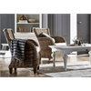 Baron Chair with Seat Cushion, Set of 2