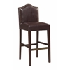 "Linon Manor Bar Stool Blackberry, 18""W X 19.5""D X 44""H, Manhattan Stain"