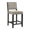 "Zoe Counter Stool - Bridgeport, 18""W X 22.13""D X 38.5""H, Black"
