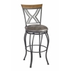 Madelyn Bar Stool Hammered Nickel