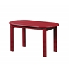 Linon Adirondack Red Coffee Table, 18.11'' X 35.24'' X 18.11'', Red