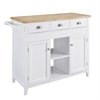 Sheridan Kitchen Cart White