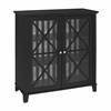 Rapture Awning Stripe Large Cabinet Black