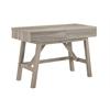 """Tracey Desk, 47.1""""W X 21.3""""D X 31.1""""H, Gray"""