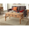 "Santa Fe Coffee Table Antique Finish, 44.02""W X 24.02""D X 20""H, Antique Pine"