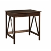 "TITIAN LAPTOP DESK, 31.5""W X 24.02""D X 30""H, Antique Tobacco"