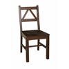 "Linon TITIAN CHAIR, 17.32""W X 21.54""D X 37.56""H, Antique Tobacco"