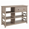 "Titian Tall Media Center, 50""W X 17.99""D X 36.02""H, Rustic Grey"