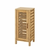 Bracken One Door Floor Cabinet Natural Bamboo
