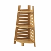 Bracken Bamboo Corner Shelf Natural Bamboo