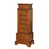 Riley Jewelry Armoire Walnut