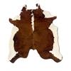Linon Cowhide Brown Stencil & Brown Stencil Full Skin