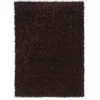 "Linon Confetti Collection, 96""W X 120""D X 2""H, Brown"