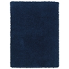 "Linon Copenhagen Collection, 96""W X 120""D X 1.5""H, Navy"