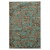 "Elegance Forest Blue, 96""W X 120""D X .25""H, Turquoise"