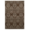 "Elegance Damask Brown, 96""W X 120""D X .25""H"