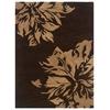 Linon Florence 10 5.0X7.0, Chocolate