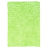 Linon Faux Sheepskin Green & Green 5 X 7