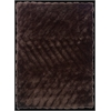 Linon Links Zigzag Chocolate 8X10