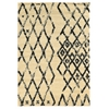 Linon Moroccan  Marrakes Ivory/Black 8X10