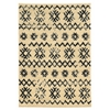 Linon Moroccan  Mekenes Ivory/Black 5X7