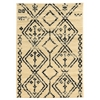 Moroccan Fes Ivory/Black 8X10