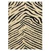Linon Moroccan  Sahara Ivory/Black 3X5