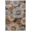 "Milan Collection, 96""W X 123""D X 0.5""H, Brown"