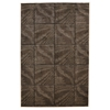 "Linon Milan Collection, 96""W X 123""D X 0.5""H, Brown"
