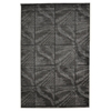 "Linon Milan Collection, 60""W X 91""D X 0.5""H, Black"