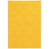 """Linon Prisma Chloe Yellow, 24""""W X 36""""D X .25""""H"""