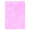 Linon Faux Sheepskin Pink & Pink 5 X 7